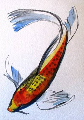 Painting - Koi Part Two by Sacha Grossel