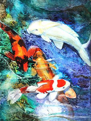 Koi Original by Patricia Allingham Carlson