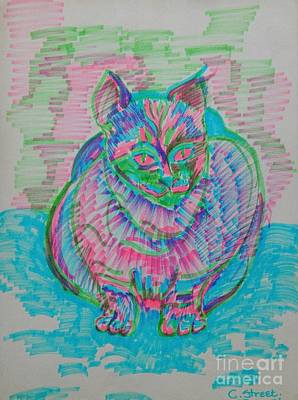 Outdoor Graphic Tees - Koki Cat by Caroline Street