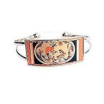 Kokopelli And Rabbit Copper Bracelet Original