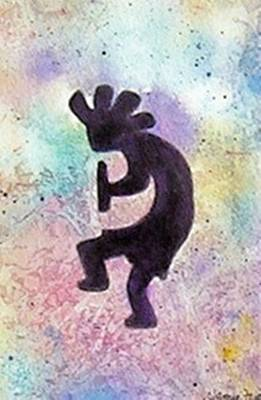 Painting - Kokopelli - Left by Jamie Frier