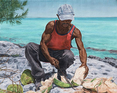 Painting - Kokoye I by Roshanne Minnis-Eyma