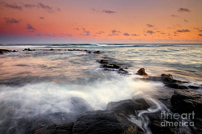 Kauai Photograph - Koloa Dusk by Mike  Dawson