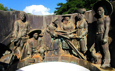 Photograph - Koloa Sugar Industry Monument 1 by Randall Weidner