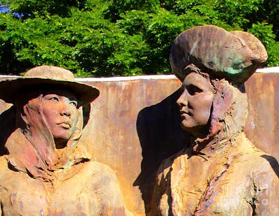 Photograph - Koloa Sugar Industry Monument 2 by Randall Weidner