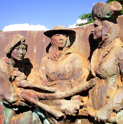 Photograph - Koloa Sugar Industry Monument 3 by Randall Weidner
