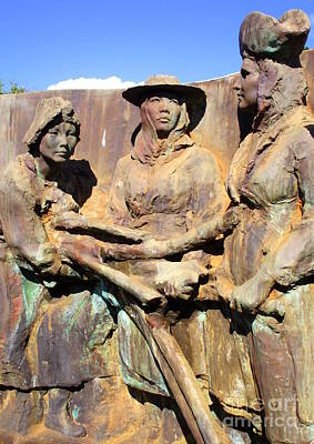 Photograph - Koloa Sugar Industry Monument 4 by Randall Weidner