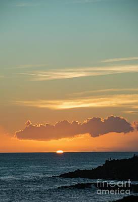 Photograph - Koloa Sunset 7719 by Chuck Flewelling