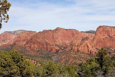 Photograph - Kolob Canyon - 2  by Christy Pooschke