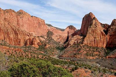 Photograph - Kolob Canyon - 3 by Christy Pooschke