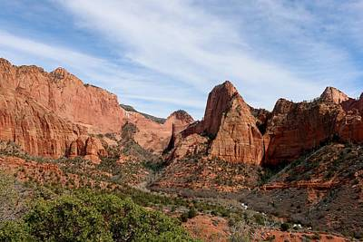 Photograph - Kolob Canyon - 4 by Christy Pooschke