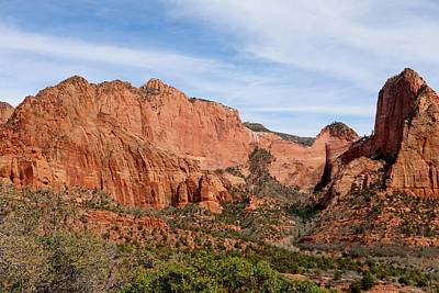 Photograph - Kolob Canyon - 5 by Christy Pooschke