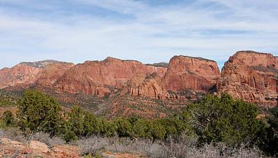 Photograph - Kolob Canyon  by Christy Pooschke