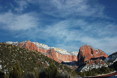 Kolob Canyon Art Print