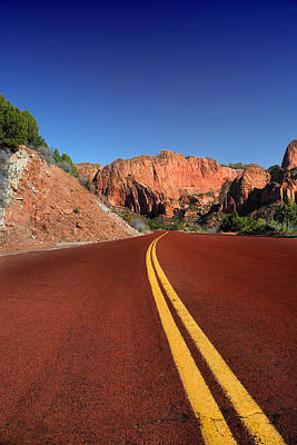 Photograph - Kolob Canyon Road by David Andersen
