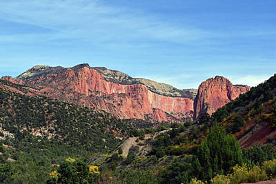 Photograph - Kolob Canyon, Zion National Park No. 10 by Sandy Taylor