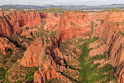 Photograph - Kolob Canyons by Loree Johnson