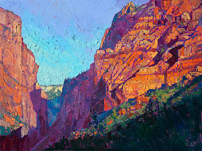 Zion Painting - Kolob Majesty by Erin Hanson