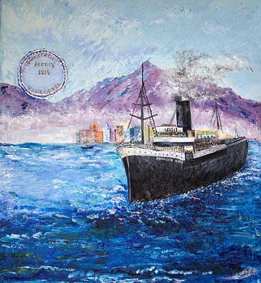 Komagata Maru In Troubled Waters Original