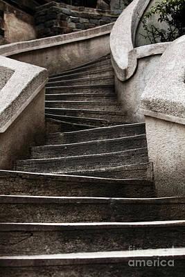 Galata Photograph - Komando Steps by John Rizzuto