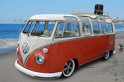 Photograph - Kombi Kombi by Bill Dutting