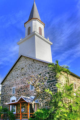 Photograph - Kona Church by Joe  Palermo