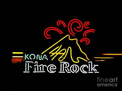 Photograph - Kona Fire Rock 2 by Kelly Awad