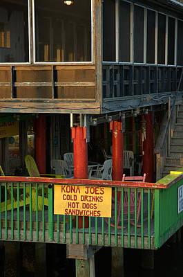 Photograph - Kona Joes - Cedar Key by Kathi Shotwell
