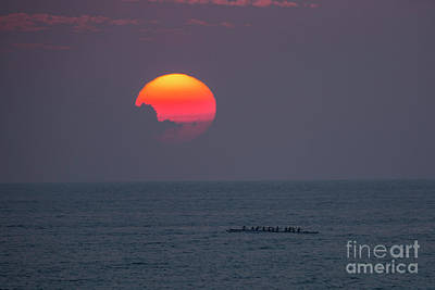 Photograph - Kona Sunset 1 by Daniel Knighton