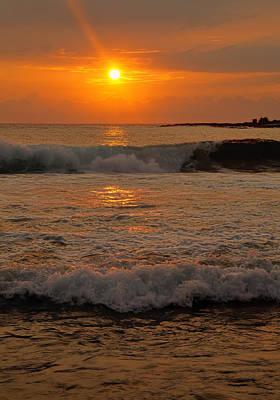 Photograph - Kona Sunset by Pamela Walton