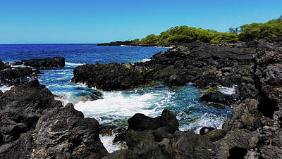 Photograph - Kona Tide Pools by Pamela Walton
