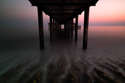 Colorful Photograph - Konakli Pier by Tor-Ivar Naess