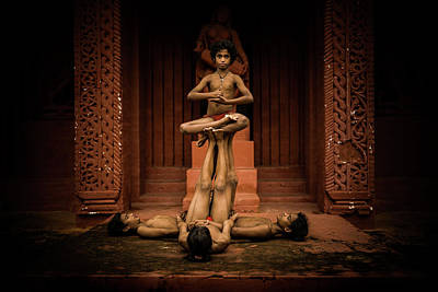 Photograph - Konark Natya Mandap Gotipua by Lucas Dragone