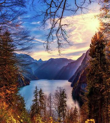 Photograph - Konigsee Bavaria by Pixabay