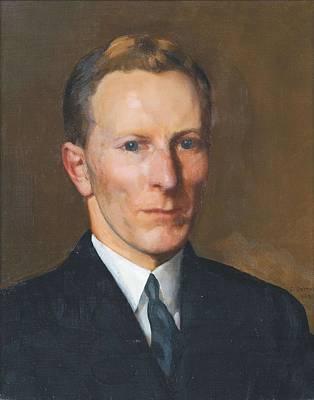 Caucasian Painting - Konstantin Somov , Portrait Of Boris Nolde, 1932 by Konstantin Somov
