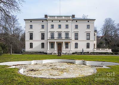 Claude Monet - Konsul Perssons Villa by Antony McAulay