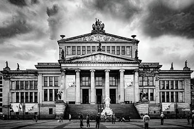 Photograph - Konzerthaus Berlin by Michael Niessen