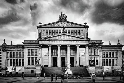 Photograph - Konzerthaus Berlin by Michael Niessen