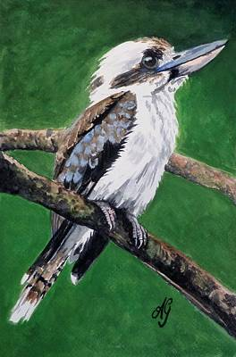 Painting - Kookaburra by Anne Gardner