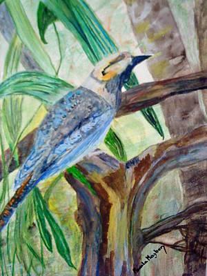Painting - Kookaburra Dalcelo Leachii by Paula Maybery