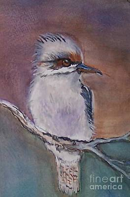 Painting - Kookaburra Fancy by Leslie Allen
