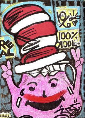Art Is My Bliss Mixed Media - Kool Kat by Robert Wolverton Jr