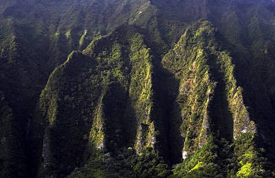 Photograph - Koolau Range, Oahu by Kenneth Campbell