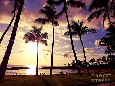 Photograph - Koolina Sunset by Kristine Merc