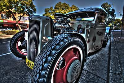 Photograph - Koolsville Rat Rod. by Ian  Ramsay