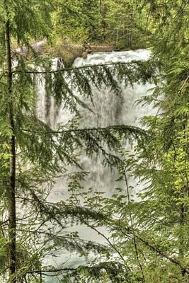 Photograph - Koosah Falls - 1 by Hany J