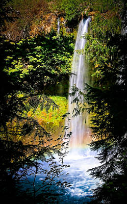 Photograph - Koosah Falls In August by Athena Mckinzie