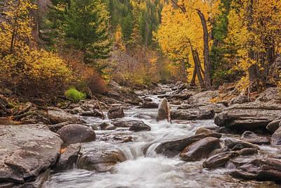Photograph - Kootenai Creek by Scott Wheeler