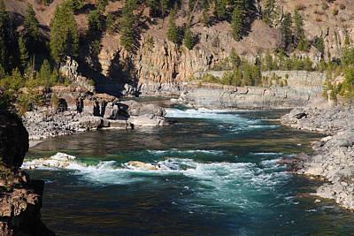 Photograph - Kootenai Fall, Montana by Robin Coventry
