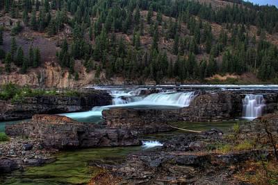 Photograph - Kootenai Falls #1 by Robert Hosea